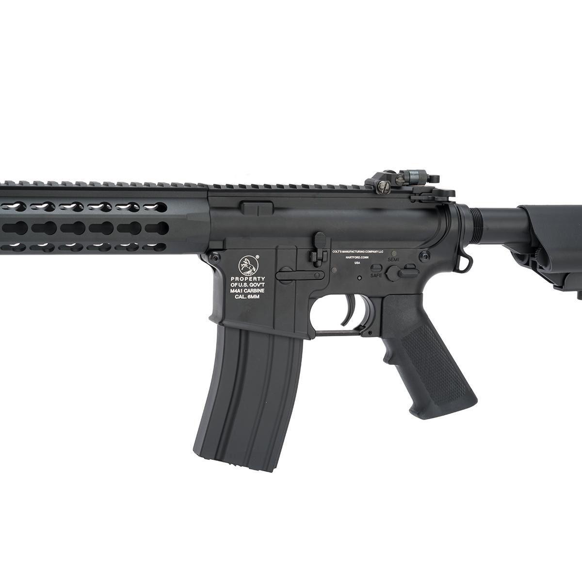 Rifle Airsoft M4A1 Keymod long - Full metal Cybergun