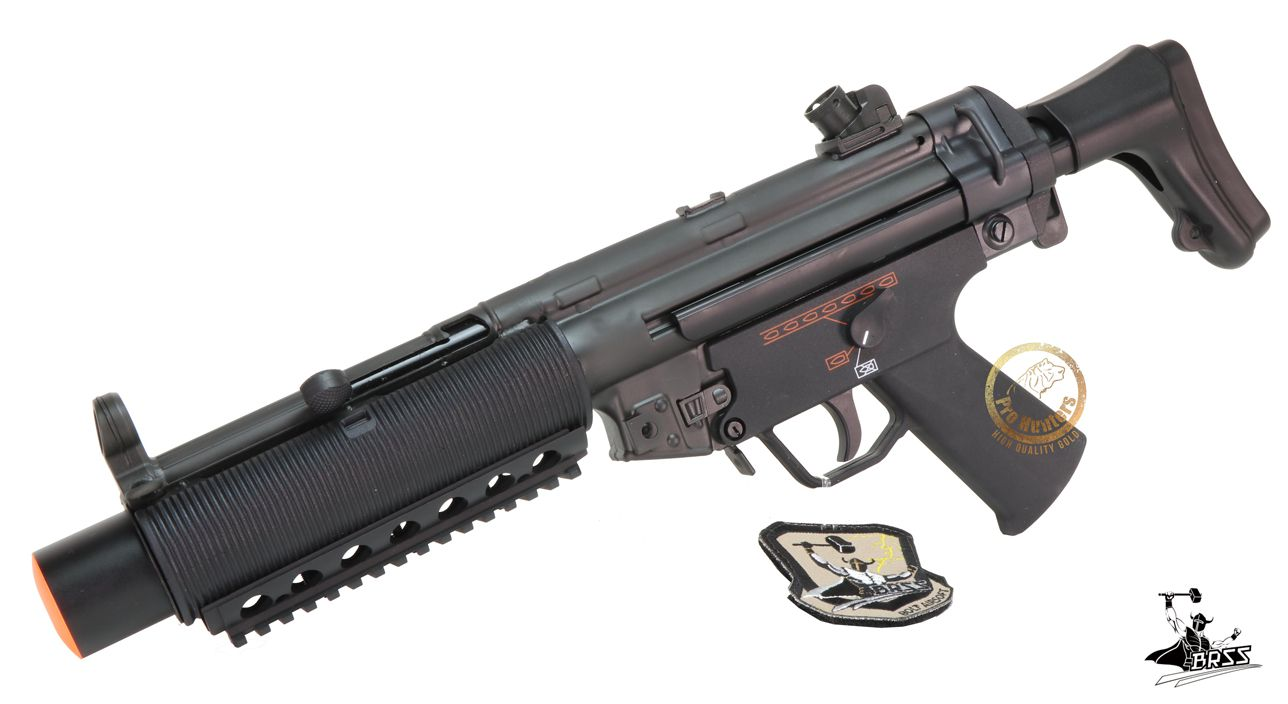 Rifle Airsoft MP5 BOLT SWAT SD6 SHORTY -Full Metal - Blowback & Recoil System - FRETE GRÁTIS