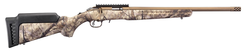 PRÉ-VENDA Rifle Ruger American Rimfire Standard - 22 WMR - Camo