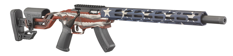 PRÉ-VENDA Rifle Ruger Precision Rimfire - 22 LR - Bandeira EUA