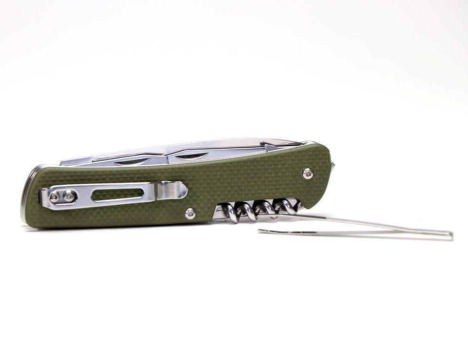 Ruike Knife - L21 - Canivete Multifuncional  - Green