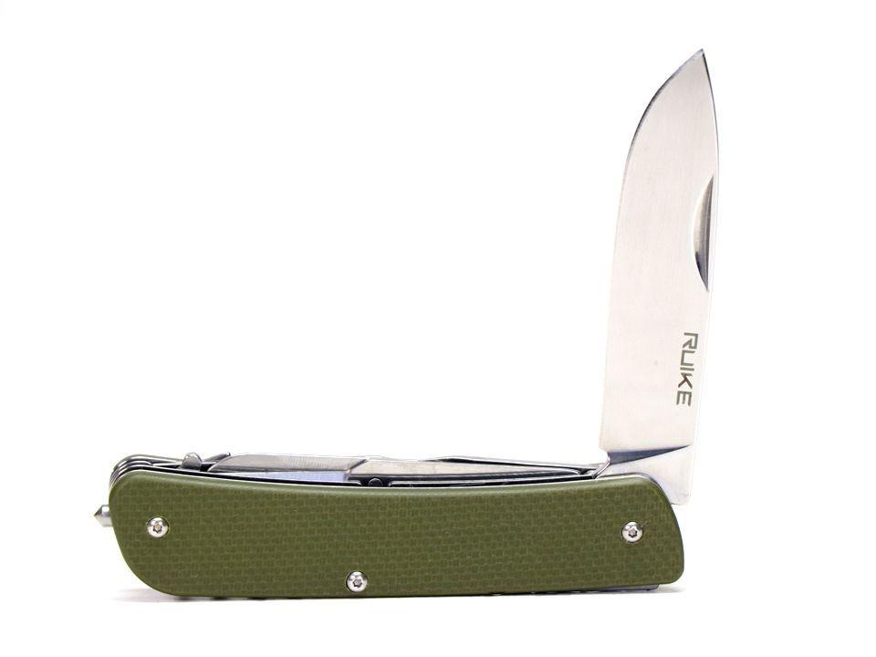 Ruike Knife - L31 - Canivete Multifuncional  - Green