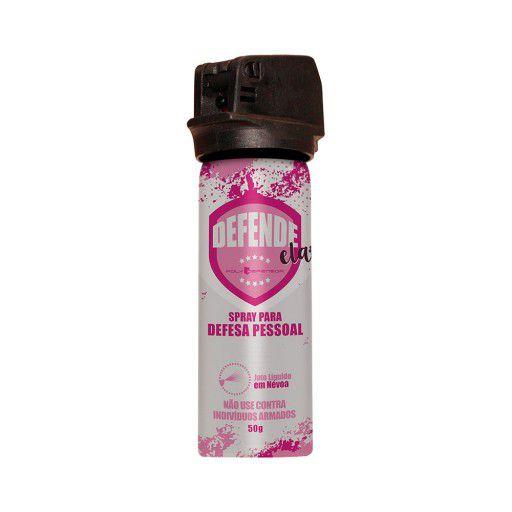 Spray de Defesa Pessoal 50g - Defende Ela