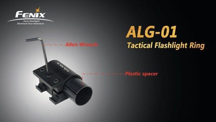 Suporte De Lanterna Para Arma Fenix  ALG01 Com Rail Mount