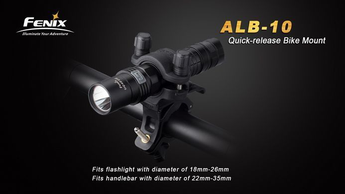 Suporte De Lanterna Para Bicicleta Fenix ALB-10