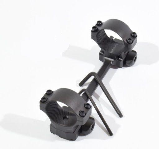 Suporte para luneta quick realase - Padrão Dovetail - CZ - 30mm (Original CZ)