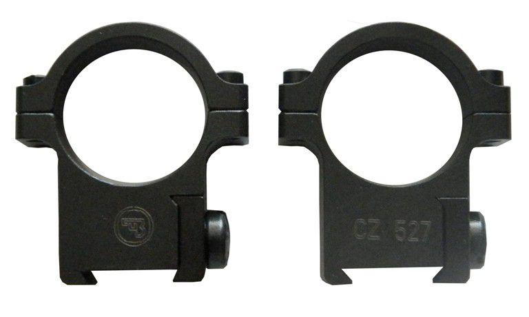 """Suporte para Luneta padrão Dovetail  - CZ 527- 1"""" (25,4mm) (Original CZ)"""