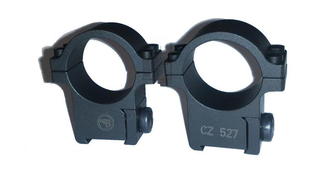 Suporte para Luneta 25,4mm (1'')  Padrão Dovetail para CZ 527 (Original CZ)