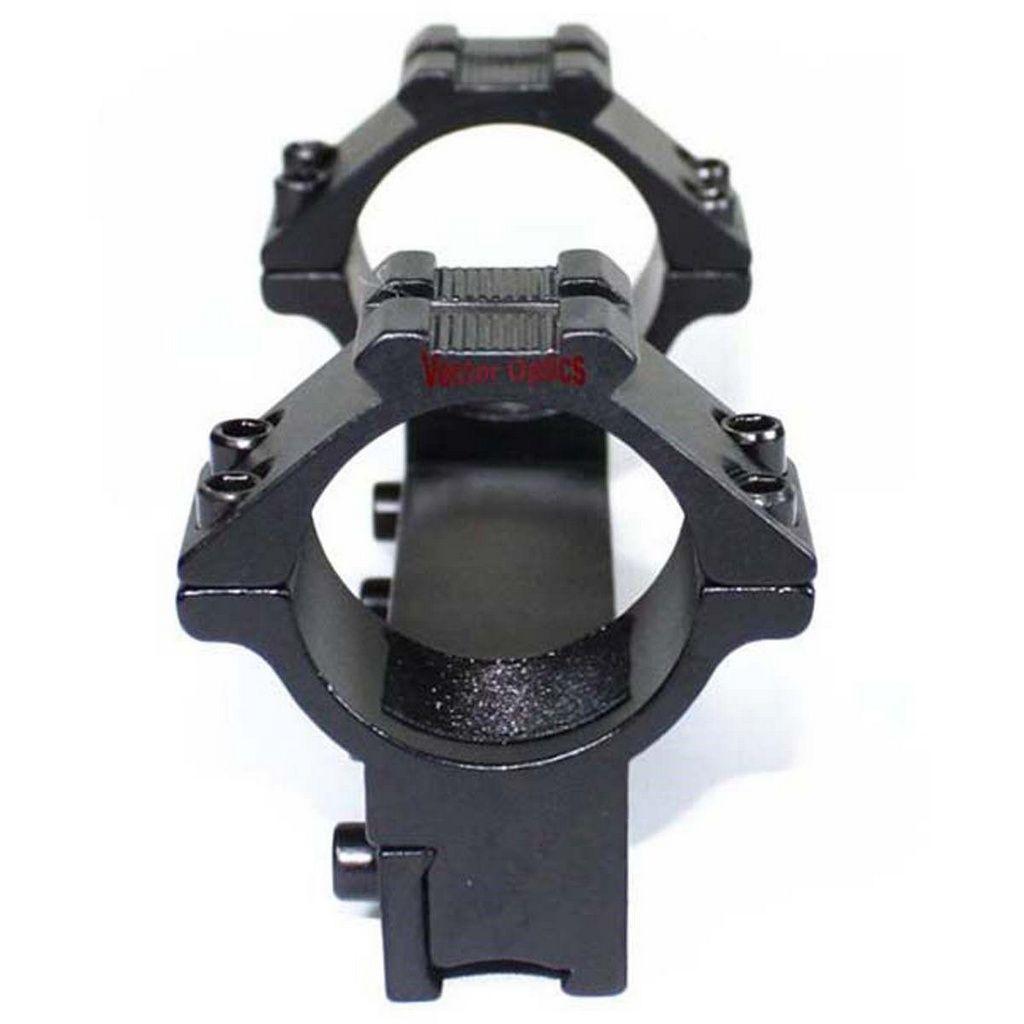 Suporte Para Luneta Tubo 30mm Perfil Alto Para Trilho 11mm - Vector Optics