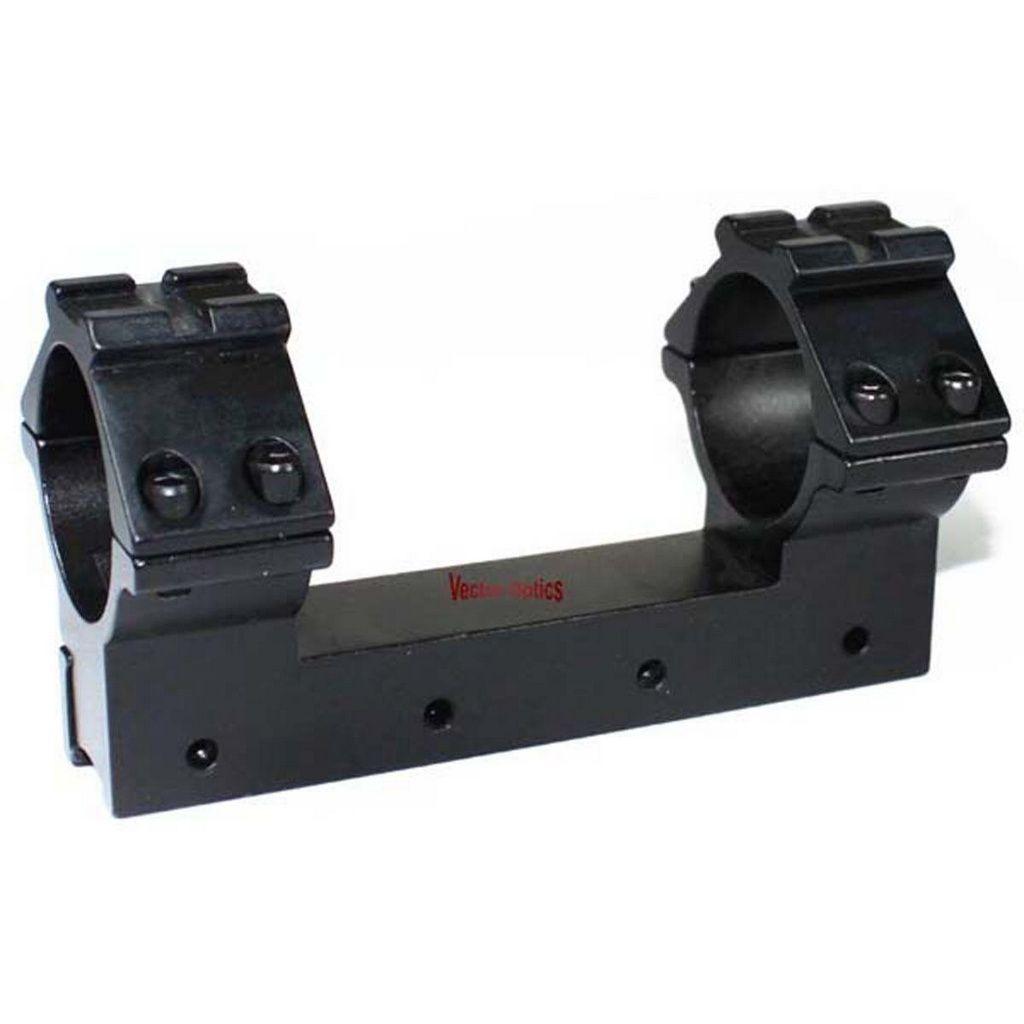 Suporte Para Luneta Tubo 30mm Perfil Alto Para Trilho 11mm - Trilho Weaver Sup