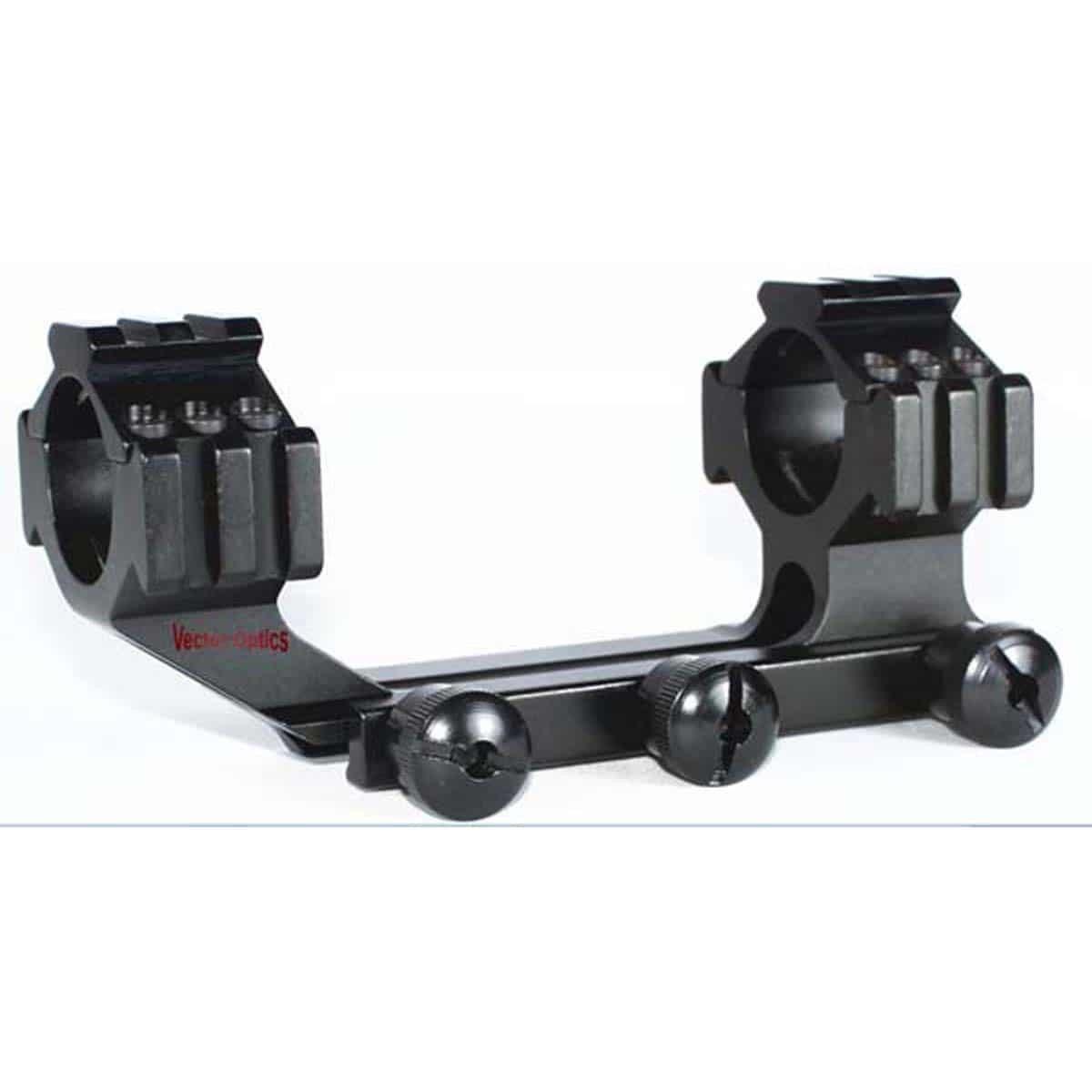 Suporte para luneta Vector Optics Hydra 30mm OnePiece Tactial Tri-Rail Longo