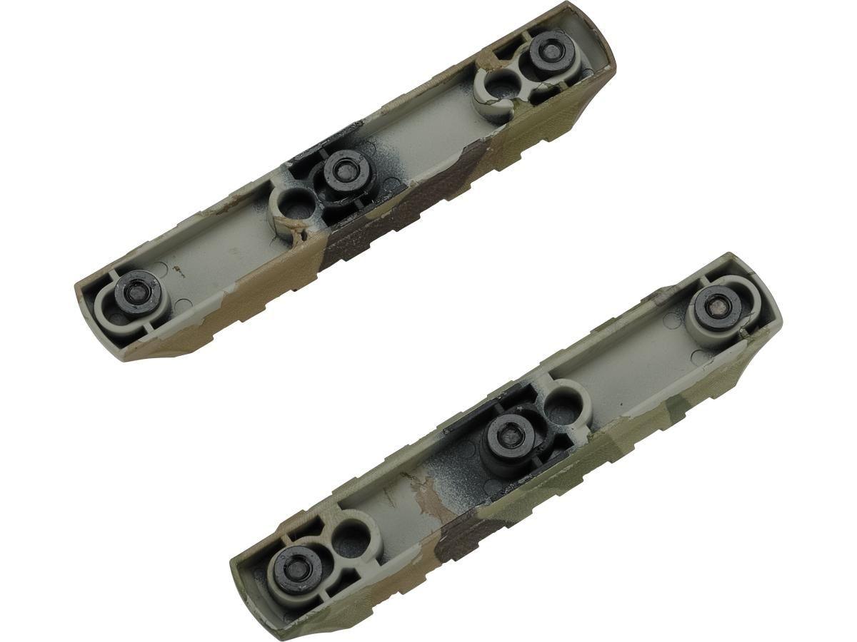 Trilho para Keymod Dytac - Multicam ( 2x7 Slots)
