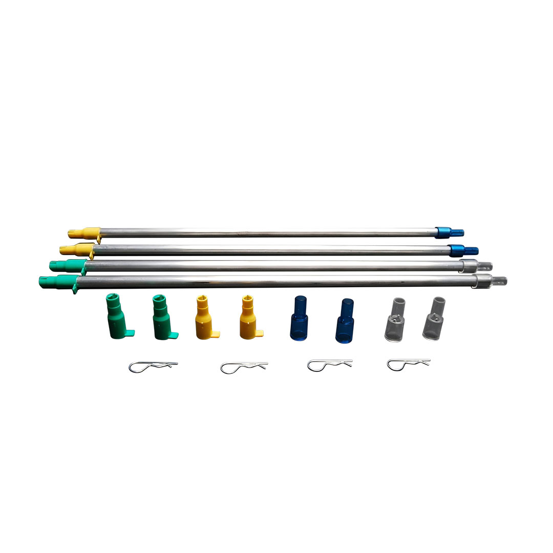 Tubo Coletor de Espoleta Dillon XL650/XL750 - Pack Com 2 Large e 2 Small