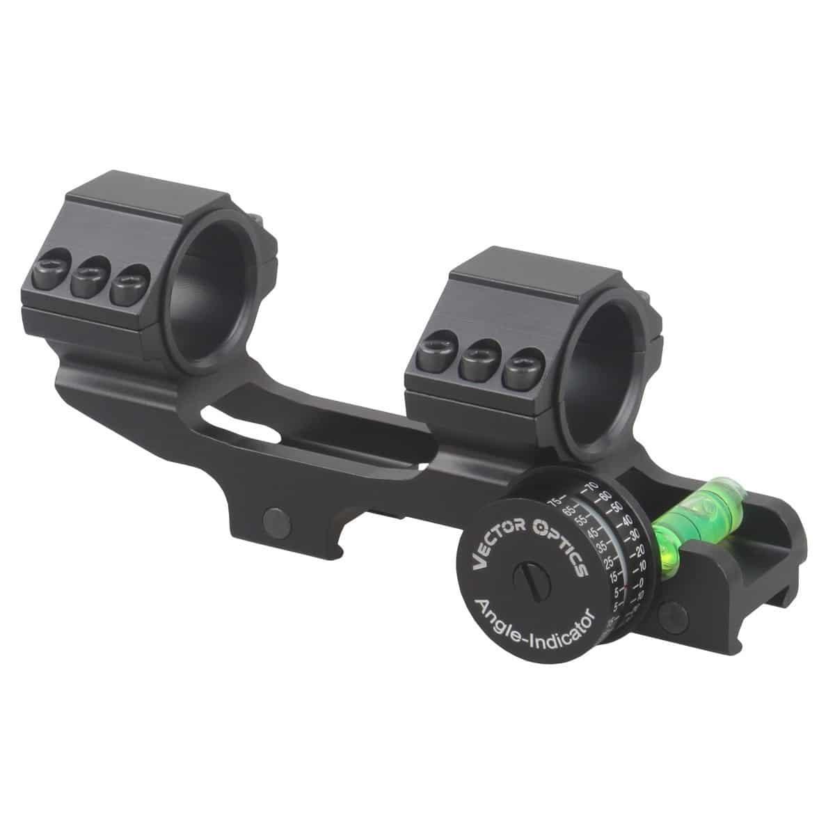 Suporte para Luneta Vector Optics 30mm com indicador de ângulo