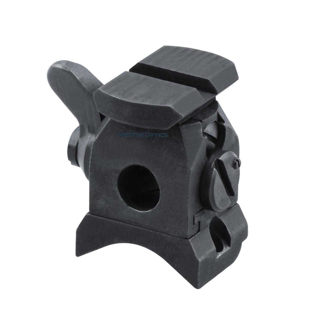 Suporte de aço com trilho ZIELFERNROHR KARABINER 98K K98 Vector Optics