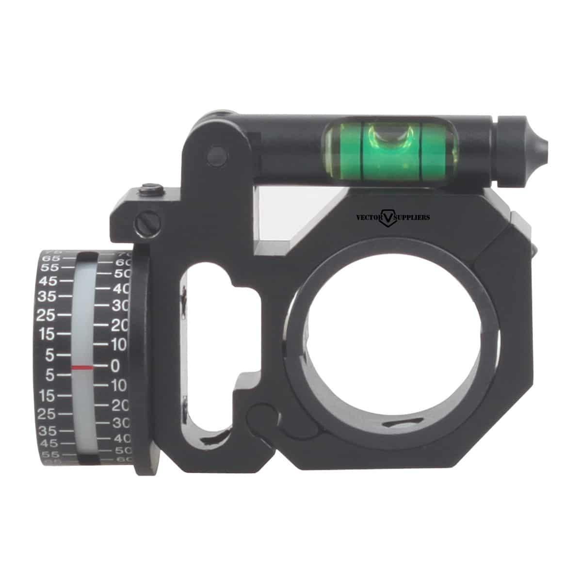 Anel para Luneta Vector Optics 30mm com indicador de ângulo