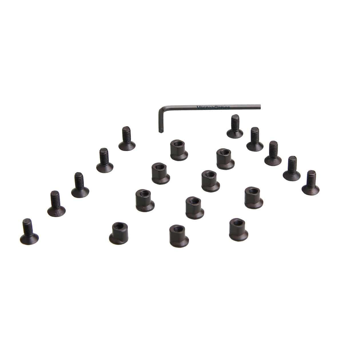 Kit de parafusos para fixação de acessórios - KEYMOD
