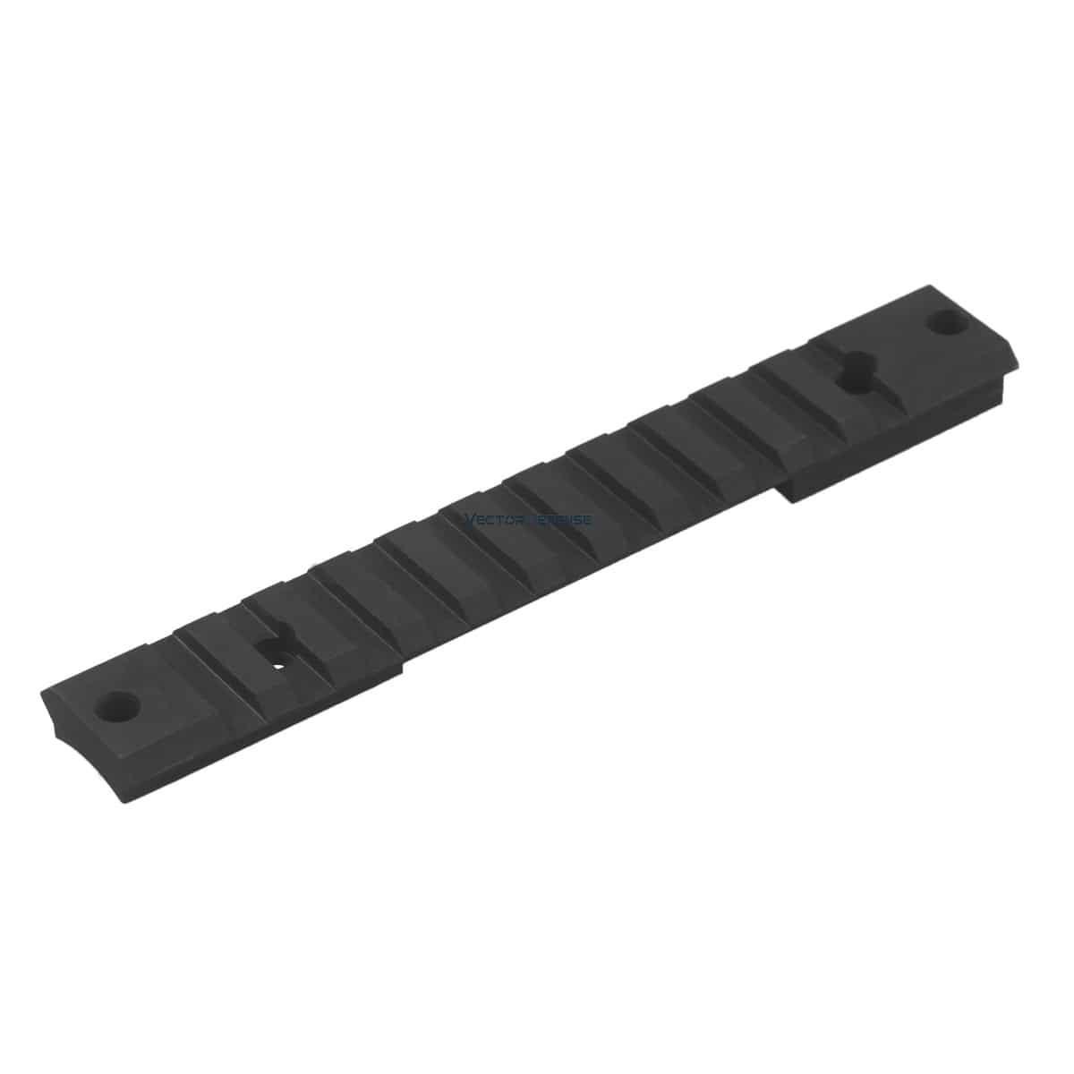 Trilho de aço Picatinny Vector Optics Remington 700 Short 20MOA