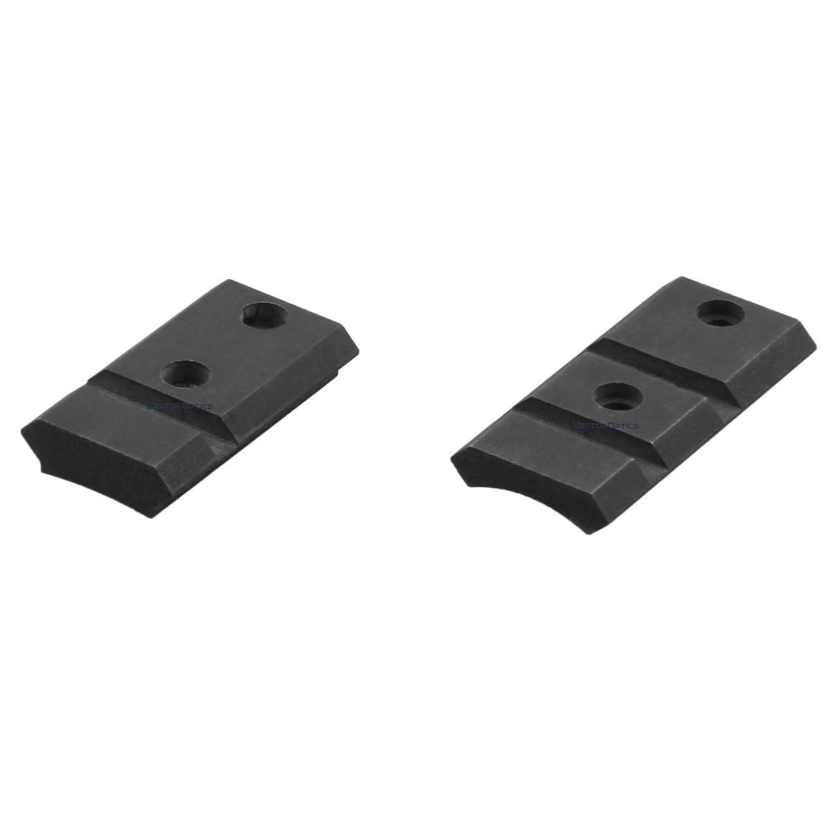 Trilho Picatinny de aço Vector Optics Remington 700 / Weatherby