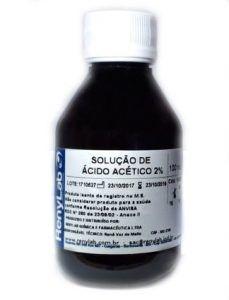 CORANTE ENDOSCOPIA - ÁCIDO ACÉTICO 2% 100ml RENYLAB