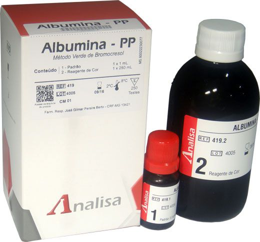 ALBUMINA - PP - 250ml GOLD ANALISA
