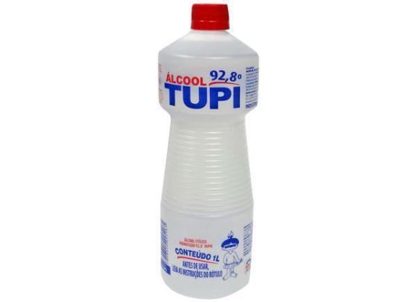 ALCOOL 92,8° TUPI 1 LITRO