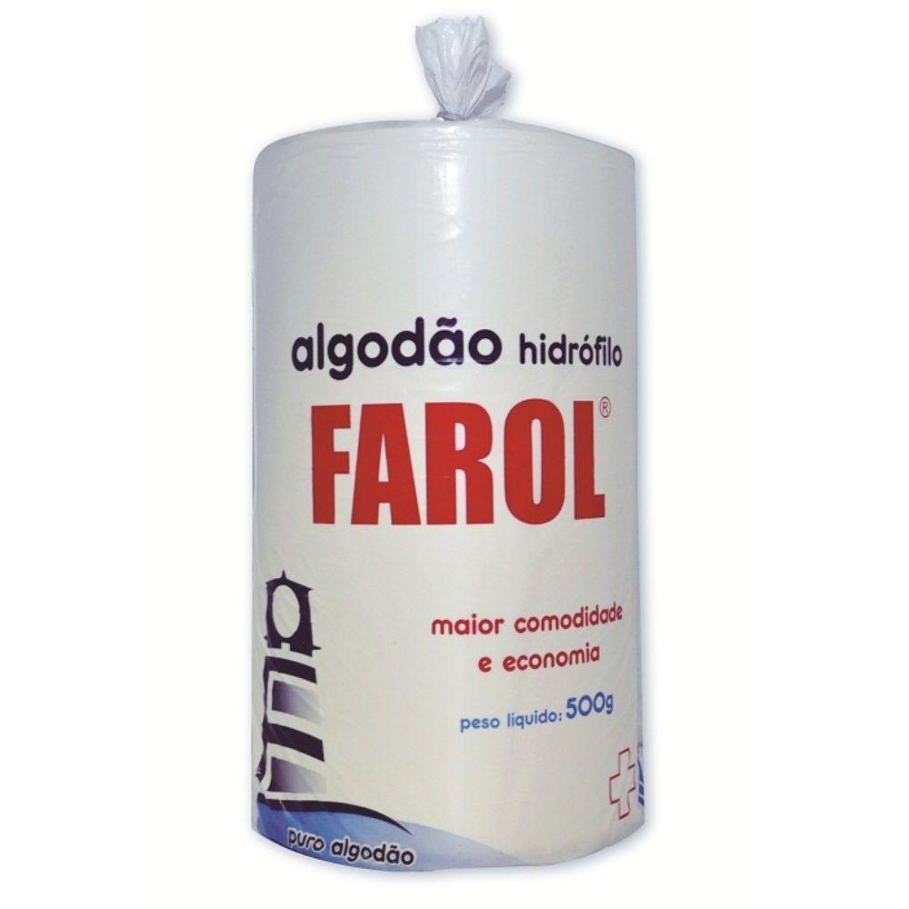 ALGODAO HIDROFILO 500G - FAROL
