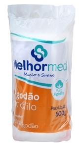 ALGODÃO HIDROFILO 500G MELHORMED
