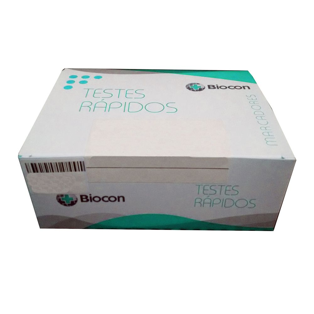 BETA HCG - BIOCON - KIT COM 100 TESTES