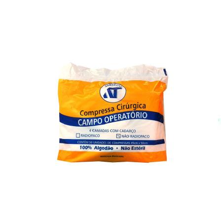 CAMPO OPERATÓRIO 45 X 50 COMUM C/50UNID
