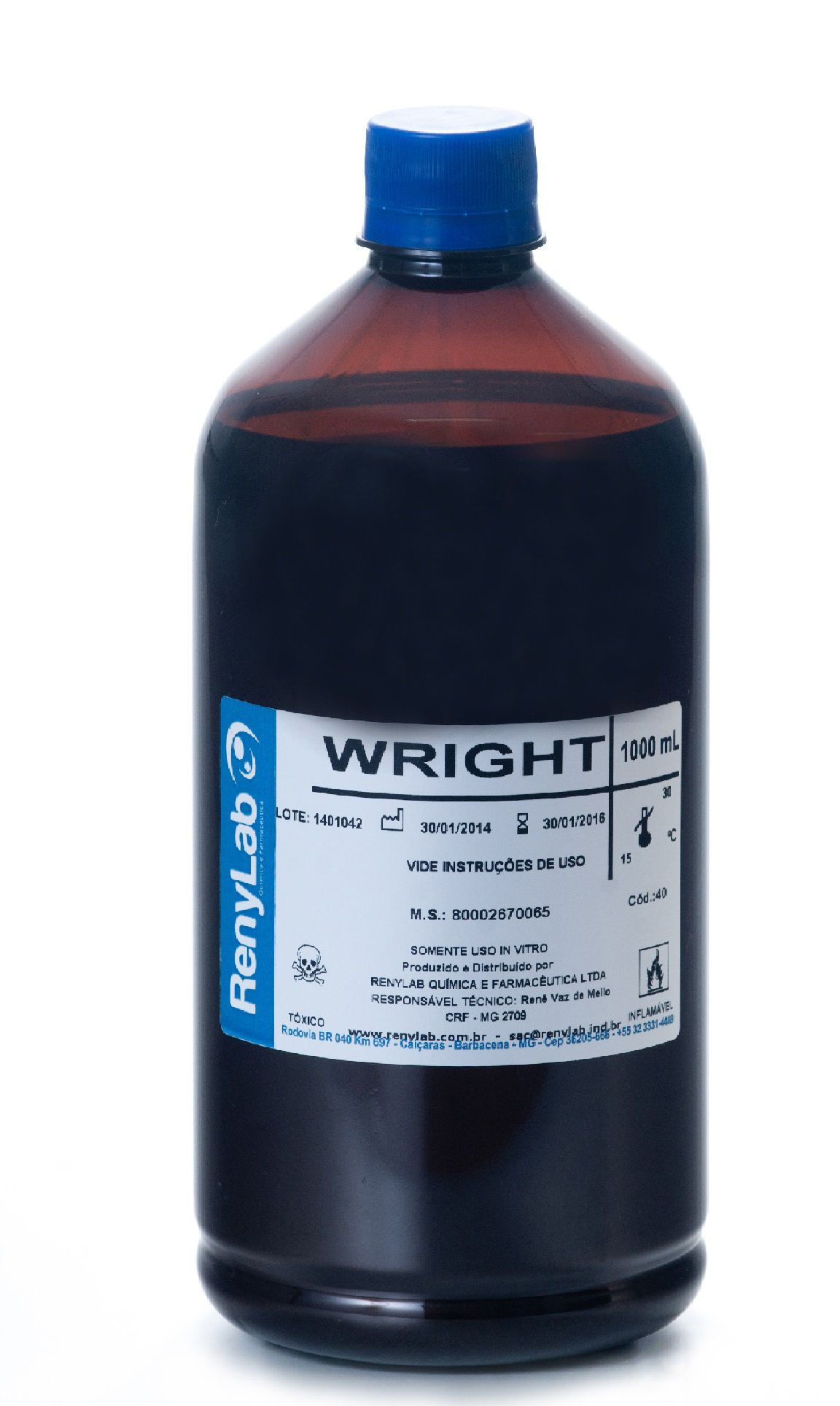CORANTE WRIGHT 500ML RENYLAB