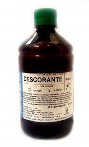 CORANTE GRAM - DESCORANTE ALCOOL-ACETONA 500ML