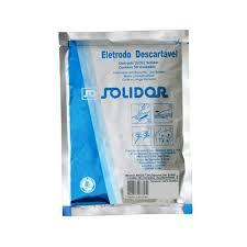 ELETRODO ECG SOLIDOR ADUL/INFANTIL C/50