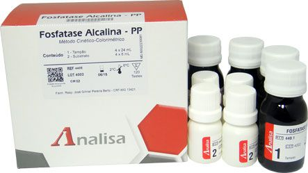 FOSFATASE ALCALINA PP 120ML GOLD ANALISA