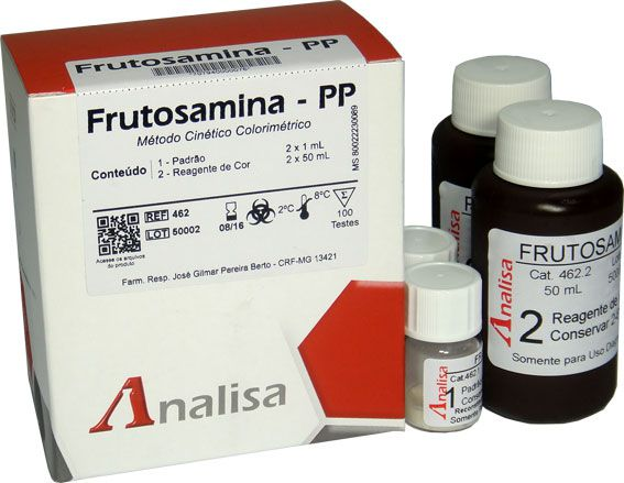 FRUTOSAMINA - PP CAT 462 - 2 x 50 mL
