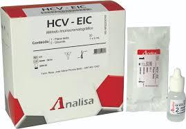 HCV  20 TESTES - GOLDANALISA