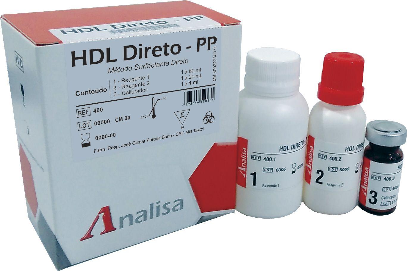 HDL DIRETO - PP CAT 400 - 80 mL