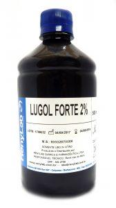 LUGOL FORTE 2% 1000mL - Renylab (Teste de Schiller)