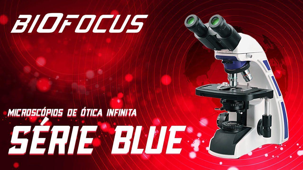 MICROSCOPIO BINOCULAR BIOFOCUS - SERIE BLU1600 - LÂMPADA LED