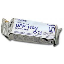 PAPEL USG SONY 110-S TIPO I: Alta Qualidade 110mm x 20m
