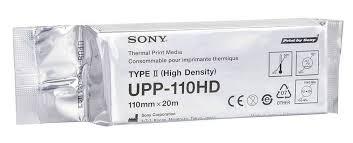 PAPEL USG SONY 110HD TIPO II: Alta Densidade 110mm x 20m