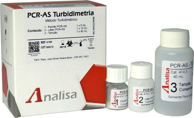 PCR TURBIDIMETRIA CAT473- 50ML GOLD ANALISA