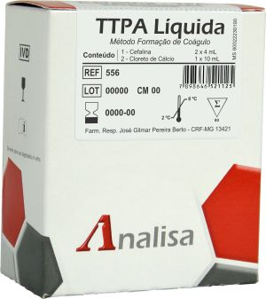 PTT GOLDANALISA cat.556E (2frascos  x 10ml)