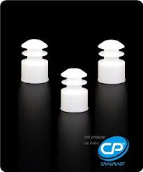 TAMPA PLASTICA P/ TUBO 12X75 C/1000
