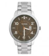 Relógio Technos ReMasculino - 2115KTM/1C Prata