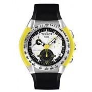 Relógio Tissot T-Tracx 100m Crono Vidro de Safira - T0104171703103