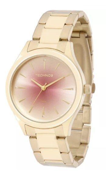 Relógio Technos Feminino - 2035MEV/K4T  - Dumont Online - Joias e Relógios