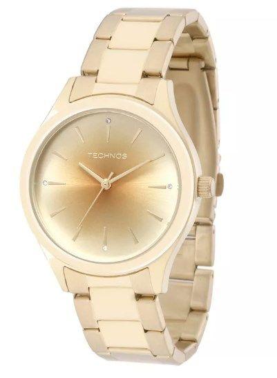 Relógio Technos Feminino - 2035MEV/K4X  - Dumont Online - Joias e Relógios