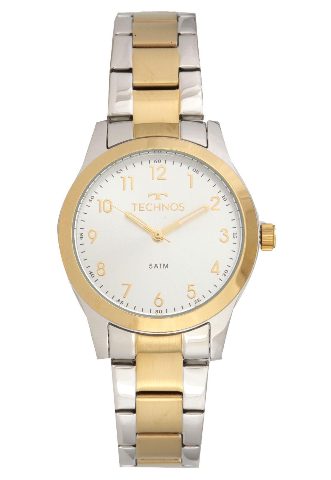 Relógio Technos Feminino Boutique - 2035MKK/5K  - Dumont Online - Joias e Relógios