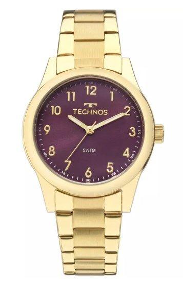 Relógio Technos Feminino - 2035MKM/4G  - Dumont Online - Joias e Relógios